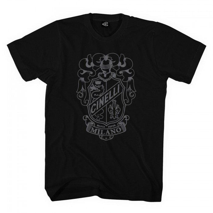 Crest Black T-Shirt