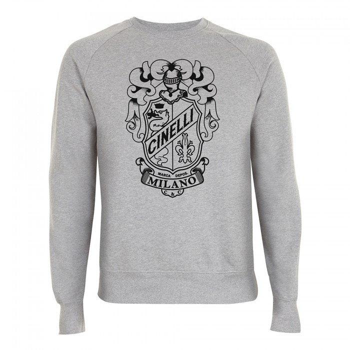 Crest Crew Neck Sweatshirt
